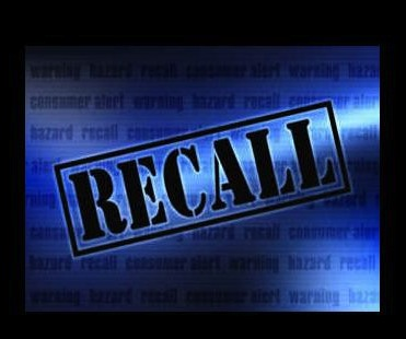 a picture of a recall sign
