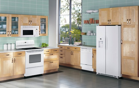 a picture of a new kitchen